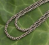 Mittelalter Halskette ~ NEMIA ~ 46 cm - Geschwärzt - Vintage Silber - Windalf.de