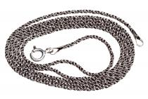 Mittelalter Halskette ~ NEMIA ~ l: 55 cm - geschwärzt - Silber - Windalf.de