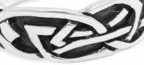 Celtic Ring ~ DINAR ~ h: 0.6 cm - Partner-Ring - Silber - Windalf.de