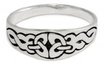 Ring ~ SULIS ~ Keltischer Knoten - Silber - Windalf.de