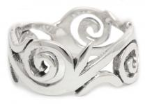 Ring ~ NIALA ~ Love Spirals - Silber - Windalf.de