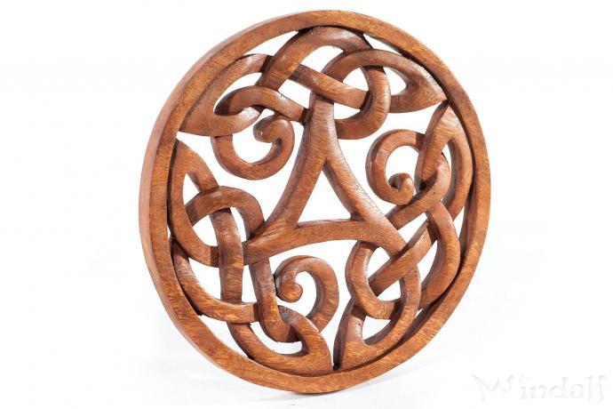 Wanddeko ALESIA ˜ 22 cm Keltische Triskele Kelten Deko