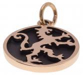 Mittelalter Drachenanhänger ~ PENDRAGON ~ 2.3 cm - König Artus Drache - Bronze - Windalf.de