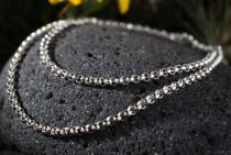 Wikinger Halskette ~ RAGNOR ~ 57 cm - Erbskette - Vintage Silber - Windalf.de