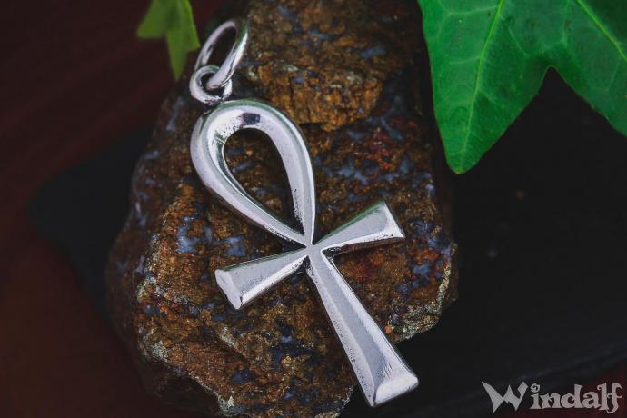 Ohrringe Ohrhänger Ankh 925 Silber Anch äghyptisches Kreuz