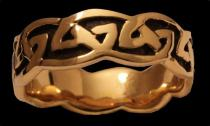 Keltischer Ring ~ ARAWN ~ Bronze - Windalf.de