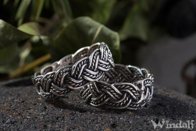 Wikingerring ~ DAVIN ~ Partner-Ring - Silber - Windalf.de