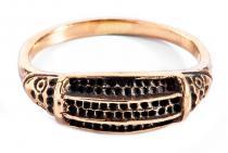Wikinger Ring ~ VARGARD ~ Schutzring - Bronze - Windalf.de