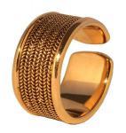 Ring Wikinger ~ ARZAN ~ Größenverstellbar - Bronze - Windalf.de