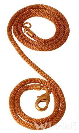 Elegante Halskette ~ DALIAH ~ l: 56 cm - Bronze - Windalf.de