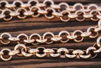 Wikingerkette ~ THURA ~ l: 56 cm - Bronze - Windalf.de