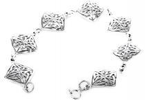 Celtic Glücks Armkette ~ ALICE ~ 18 cm - Keltische Knoten Armband - Silber - Windalf.de