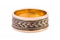 Wikinger-Ring ~ BALDUR ~ Wikingerknoten - Bronze - Windalf.de