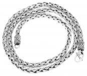 Wikinger Halskette ~ RAGNAR ~ 60 cm - Silber - Windalf.de