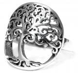 Ring ~ MAJA ~ Lebensbaum - Silber - Windalf.de