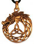 Anhänger ~ BRAIGH ~ Midgardschlange - Bronze - Windalf.de