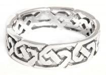 Keltischer Ring ~ SVANA ~ Freundschaftsring - Silber - Windalf.de