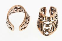 Ohrklemme ~ FENJA ~ Haarschmuck - Zauberhafte Ornamente - Bronze - Windalf.de