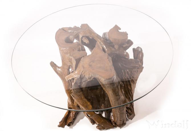 Rustikaler kaffee tisch zara h 63 cm hoher for Hoher couchtisch