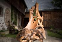 Großer Wurzelholz Sessel ~ RAGNAR ~ h: 185 cm - Rustikaler Thron - Unikat aus Wurzelholz - Windalf.de