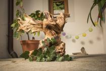 Adler Skulptur ~ DAVY ~ Rustikales Unikat - Handarbeit aus Wurzelholz - Windalf.de