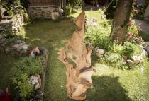 Hobbit Holz Deko ~ ARUS ~ h: 166 cm - Wurzel Figur - Holz-Skulptur - Unikat aus Wurzelholz - Windalf.de