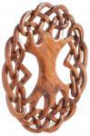 Großer Vintage Lebensbaum ~ WINWOOD ~ Ø 31 cm - Wand-Deko - Kelten Knoten - Holz - Windalf.de