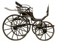 Antike & Rustikale Kutsche ~ KUTSCHE ~ Jahr 1905 - Besondere Garten Deko - Vintage Holz - Windalf.de