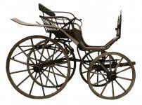 Antike & Rustikale Kutsche ~ KUTSCHE ~ Jahr 1905 - Besondere Garten Deko - Holz - Windalf.de