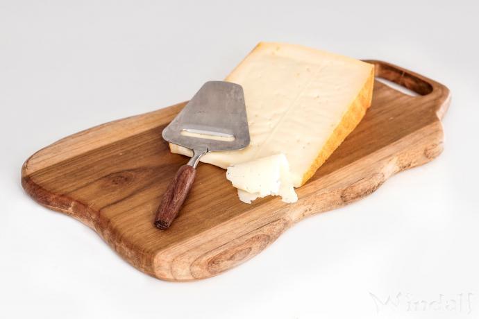 Holz Essbrett ~ MANI ~ l: 29 cm - Frühstücksbrett - Handarbeit aus ...