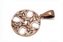 Keltischer Anhänger ~ ANTKE ~ h: 3.5 cm - Kelten Kreuz - Bronze - Windalf.de