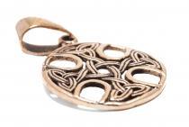 Keltischer Anhänger ~ TARA ~ 3.5 cm - Kelten-Kreuz - Bronze - Windalf.de