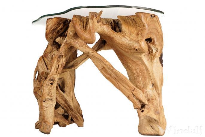 rustikaler kaffeetisch esko l nge 108 cm kleiner. Black Bedroom Furniture Sets. Home Design Ideas