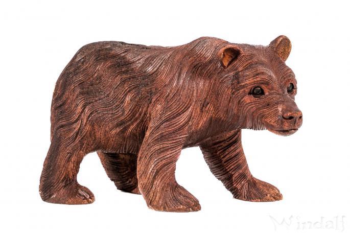 Bären Figur ~ BALU ~ 30 cm - Holz Deko - Handarbeit aus Holz - Windalf.de