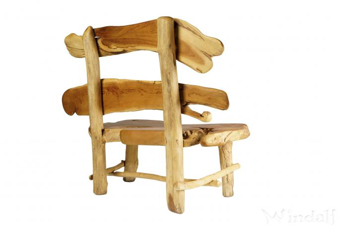 rustikale lounge sitzbank hobbit b 132 cm h 110 cm gartenbank einzelst ck aus teak. Black Bedroom Furniture Sets. Home Design Ideas