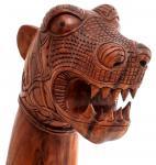 Asatru Holz Drache ~ ERICON ~ 70 cm - Wikingerschiff Drachen Figur - Vikings Gartendeko - Handarbeit aus Holz - Windalf.de