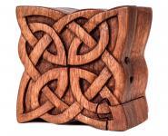 Zauberdose ~ NUADA ~ 4 Elemente - Celtic - aus Holz - Windalf.de